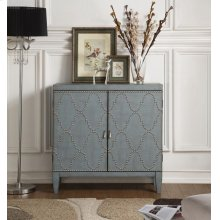 BLUE CONSOLE TABLE