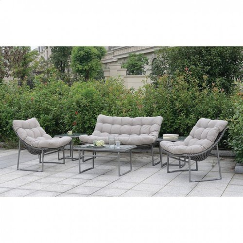 Amya Loveseat + 2 Chairs + Coffee Table + 2 End Tables