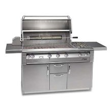 """56"""" Deluxe cart model grill with Sear Zone"""