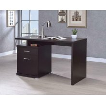 Office Desk With Drawer In Cappuccino