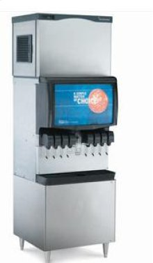 1800 lb Prodigy Eclipse Remote Cooled Modular Cube Ice Maker