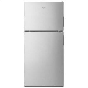 30-inch Wide Top Freezer Refrigerator - 18 cu. ft. - STAINLESS STEEL