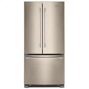 33-inch Wide French Door Refrigerator - 22 cu. ft. - FINGERPRINT RESISTANT SUNSET BRONZE