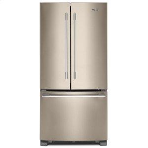 Whirlpool33-Inch Wide French Door Refrigerator - 22 Cu. Ft.