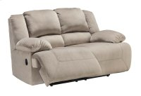 Toletta Reclining Loveseat - Granite Collection Product Image