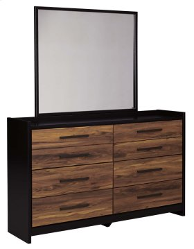 Stavani - Black/Brown 2 Piece Bedroom Set