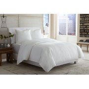 3 pc Queen Covelet/Duvet White Product Image