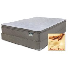 Chrome - Foam Encased (Summit) Pillow Top w/ Memory Foam - Queen