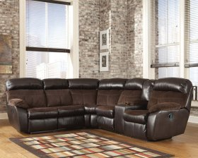 Berneen - Coffee 2 Piece Sectional