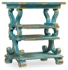 Living Room Sanctuary Rectangle Accent Table