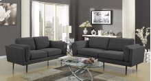 Colton Charcoal Loveseat