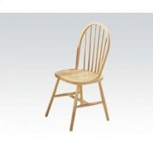 "36""h Nat. Windsor Chair"