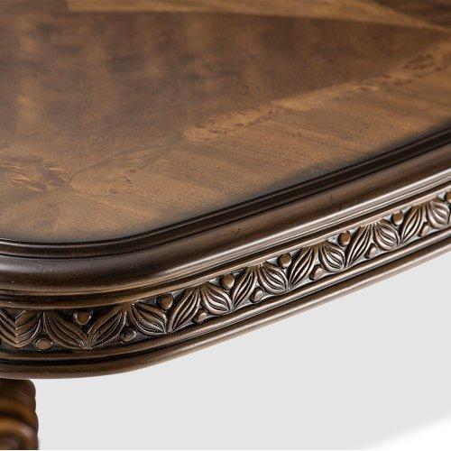 Rectangular Pedestal Dining Table (2 Pc)