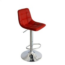 Laporte Red Bar Stool