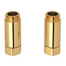 Italian Brass Adaptor - Set Of 2