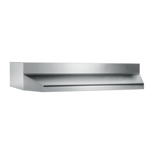 """36"""", Stainless Steel, Under-Cabinet Hood Shell"""