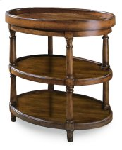Living Room Oval Accent Table