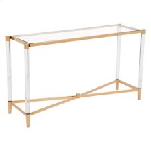 Existential Console Table Gold