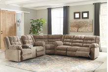 Workhorse - Cocoa 3 Piece Sectional