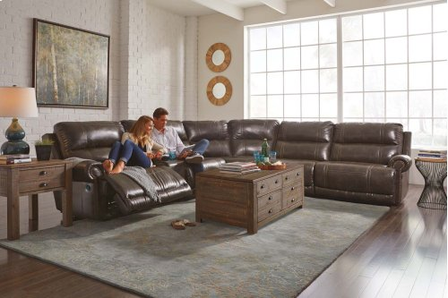Dak - Antique 5 Piece Sectional