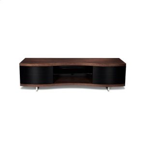Bdi FurnitureTriple Width Cabinet 8137 In Chocolate Stained Walnut