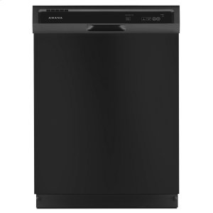 Dishwasher with Triple Filter Wash System Black -