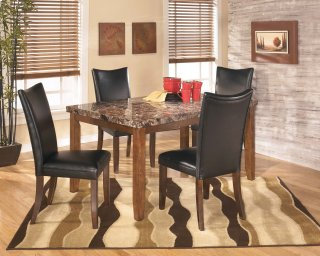 Lacey Black 5 Piece Dining Room Set