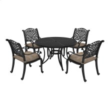 Rose View - Brown 3 Piece Patio Set