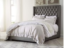 Coralayne - Silver 2 Piece Bed Set (Cal King)