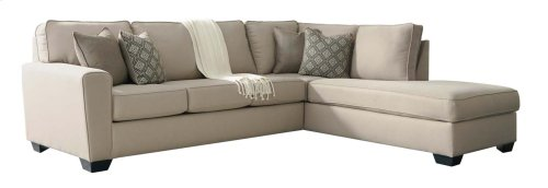 Calicho - Ecru 2 Piece Sectional