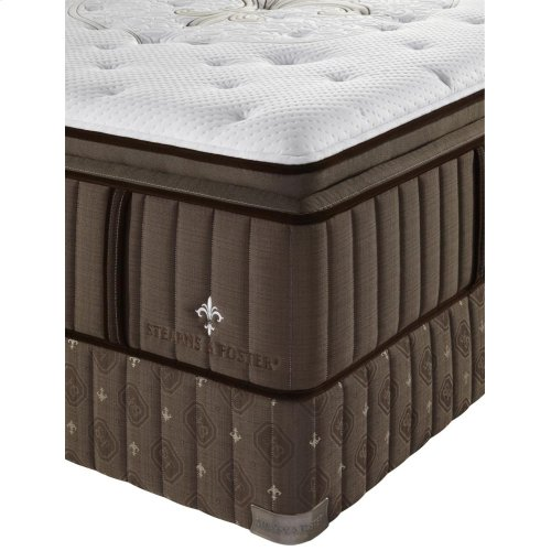 Lux Estate Collection - Pompano - Euro Pillow Top - Plush - Cal King