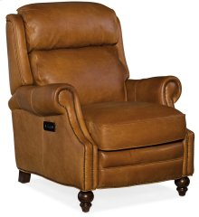 Living Room Fifer Power Recliner with Power Headrest