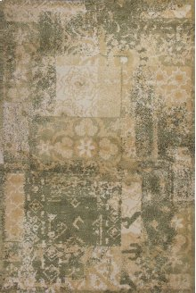 "Allure 4054 Sage/gold Vintage 2'3"" X 7'6"" Runner"