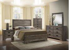 Nathan Queen Bedroom Group: Queen Bed, Nightstand, Dresser & Mirror