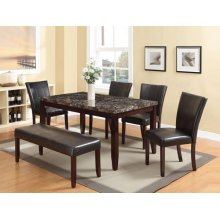 ESP DINING TABLE W/FAUX MARBLE