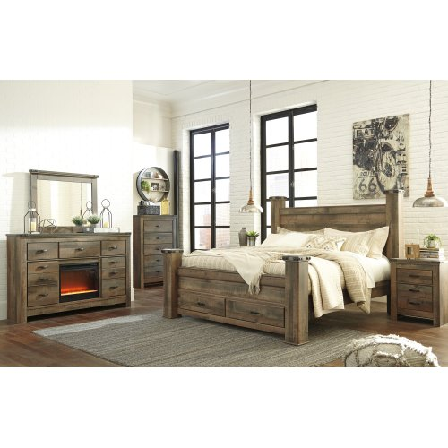 King Poster Storage Footboard