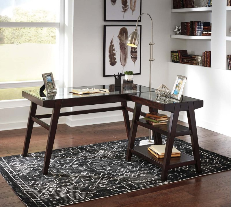 H63710 in by Ashley Furniture in Beaverton, OR - Home Office Desk on kitchen desk design, gray office design, home office desks cheap, workshop desk design, home storage design, study desk design, art desk design, home office furniture, security desk design, work desk design, home office computer desks, craft room desk design, garage desk design, home bookcase design, garden desk design, creative desk design, computer desk design, home pantry design, patio desk design, home workstation design,