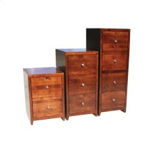 "A-P646 Pacific Urban Alder 2-Drawer Locking Vertical File Cabinet, 21""W x 20""D x 30""H"