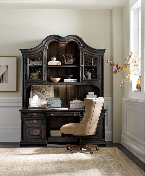 Home Office Auberose Computer Credenza Hutch