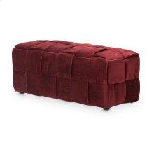 Oakland Rectangle Woven Ottoman Bry