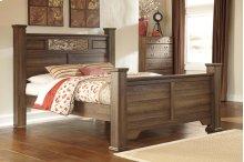 Allymore - Brown 4 Piece Bed Set (Queen)