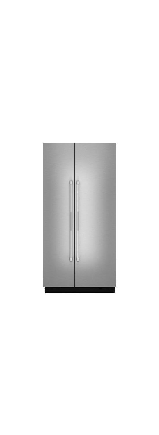 "Pro-Style(R) 42"" Fully Integrated Built-In Side-by-Side Panel-Kit Stainless Steel