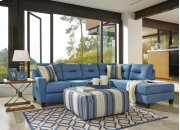 Kirwin Nuvella® - Blue 2 Piece Sectional Product Image