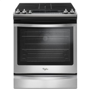 5.8 Cu. Ft. Slide-In Gas Range with EZ-2-Lift Hinged Grates -