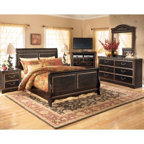 Coal Creek - Dark Brown 2 Piece Bedroom Set