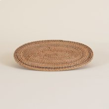 Natural Woven Oval Placemat