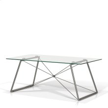 Ander Rectangular Glass Top Coffee Table