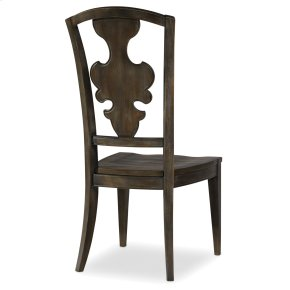 Dining Room Sanctuary Side Chair-Greige Journey
