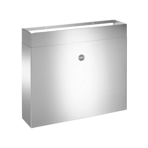 48 Full Width Duct Cover Stainless Steel