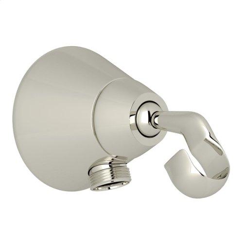 Polished Nickel Handshower Outlet And Handshower Holder